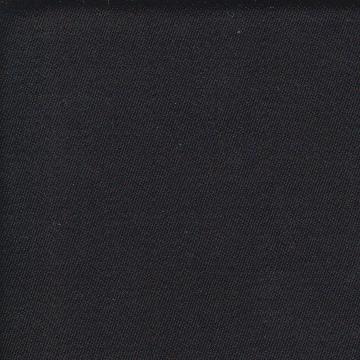 Plain black Barathea